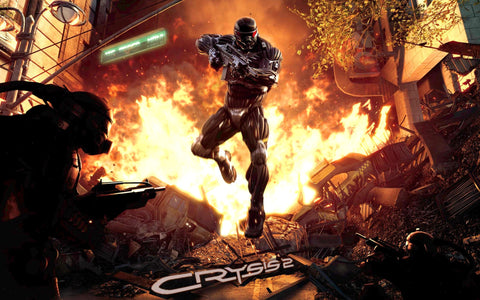 2011 Crysis 2 Game Silk Wall Art Poster Print - 13x20 inch (33x50cm)