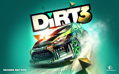 2011 DiRT 3 Game Game Silk Wall Art Poster Print - 13x20 inch (33x50cm)