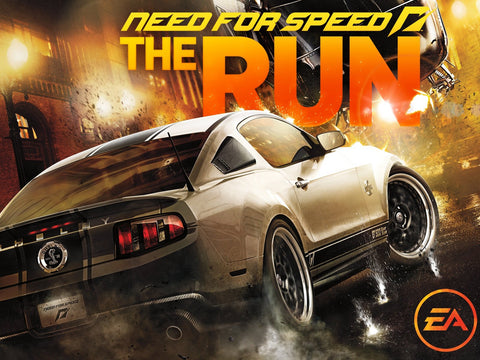 2011 Need for Speed The Run Game Silk Wall Art Poster Print - 32x48 inch (80x120cm)