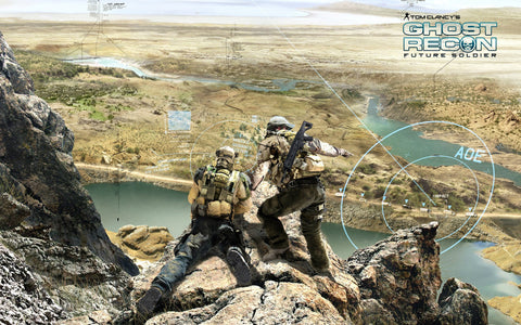 2012 Ghost Recon Future Soldier Game Game Silk Wall Art Poster Print - 13x20 inch (33x50cm)