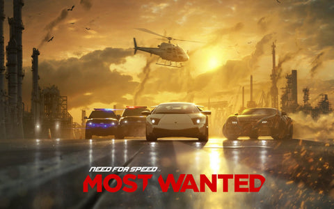 2012 Need for Speed Most Wanted Game Silk Wall Art Poster Print - 13x20 inch (33x50cm)