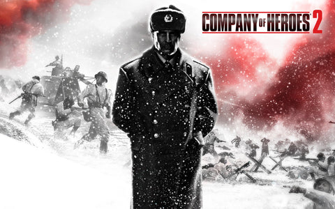 2013 Company of Heroes 2 Game Game Silk Wall Art Poster Print - 13x20 inch (33x50cm)