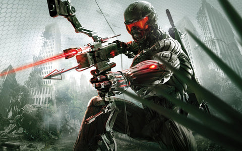 2013 Crysis 3 Game Silk Wall Art Poster Print - 13x20 inch (33x50cm)