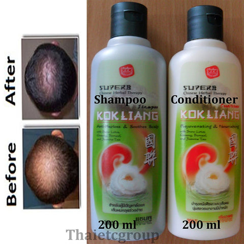 KOKLIANG Anti-hair loss anti-dandruff conditioner natural Ginseng Snow Lotus