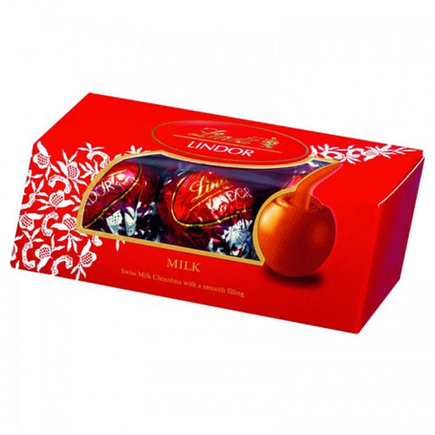 Lindt Lindor Milk Chocolate With a Smooth Melting Filling 37 g.