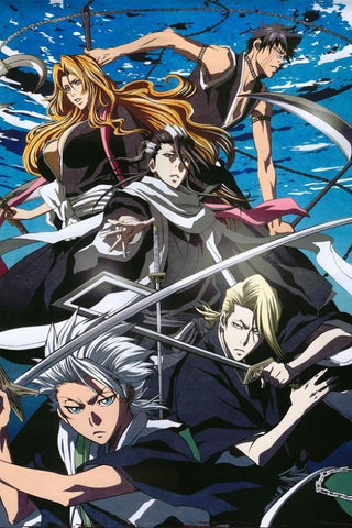 BLEACH Anime Poster Customize Art Silk Wall Posters HD Big Prints Hot Japanese Anime Poster Customize 36 - 20x30 inch (50x75cm)