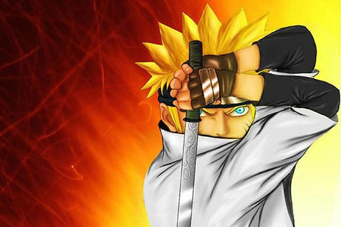 Free shipping NARUTO Silk Wall Poster HD Big Prints Popular Comic Anime Poster Customized Home Decor 67 - 20x30 inch (50x75cm)