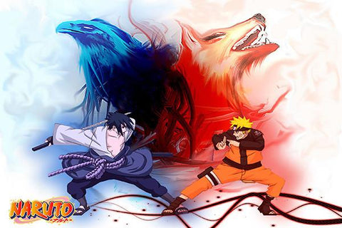 Free shipping NARUTO Silk Wall Poster HD Big Prints Popular Comic Anime Poster Customized Home Decor 48 - 20x30 inch (50x75cm)
