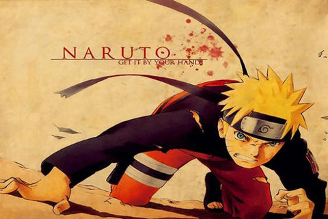 Free shipping NARUTO Silk Wall Poster HD Big Prints Popular Comic Anime Poster Customized Home Decor 22 - 20x30 inch (50x75cm)