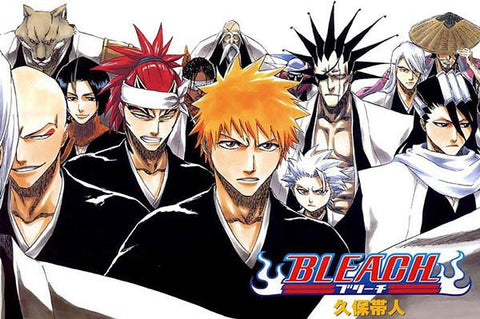 BLEACH Anime Art Silk Wall Posters Hot Japanese Anime Picture For Living Room 141 - 20x30 inch (50x75cm)