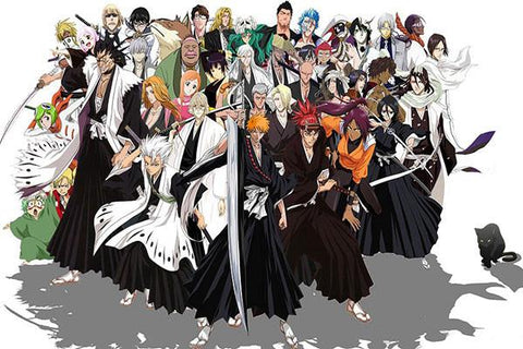 BLEACH Anime Art Posters HD Big Prints Japanese Anime Posters Decoration For Bedroom 101 - 20x30 inch (50x75cm)