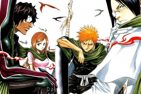 BLEACH Anime Art Posters HD Big Prints Japanese Anime Posters Decoration For Bedroom 100 - 20x30 inch (50x75cm)