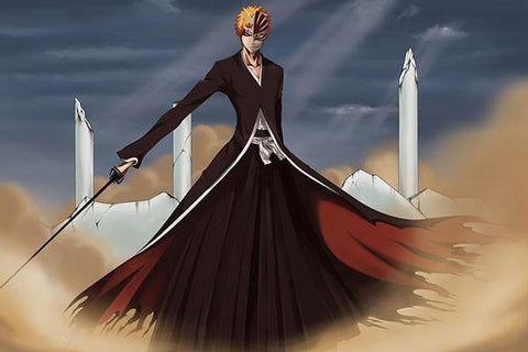 BLEACH Anime Art Silk Wall Posters Hot Japanese Anime Picture For Living Room 96 - 20x30 inch (50x75cm)