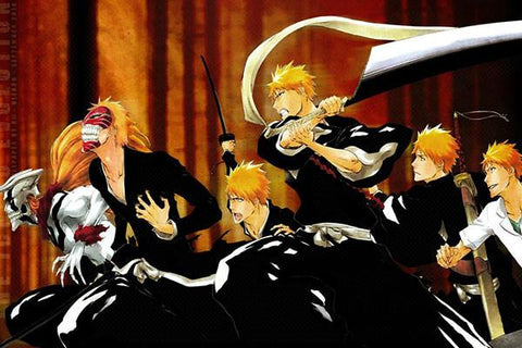 BLEACH Anime Art Posters HD Big Prints Japanese Anime Posters Decoration For Bedroom 87 - 20x30 inch (50x75cm)