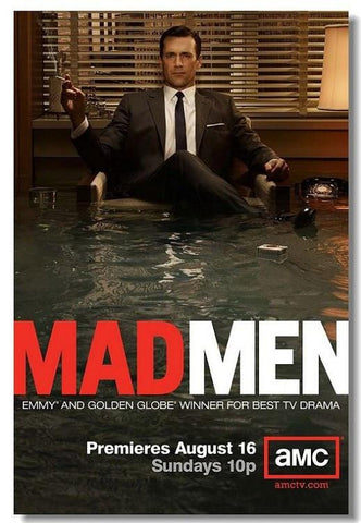Mad Man Silk Wall Poster HD printings modern bedroom home decor movie series posters for wall 01 - 32x48 inch (80x120cm)