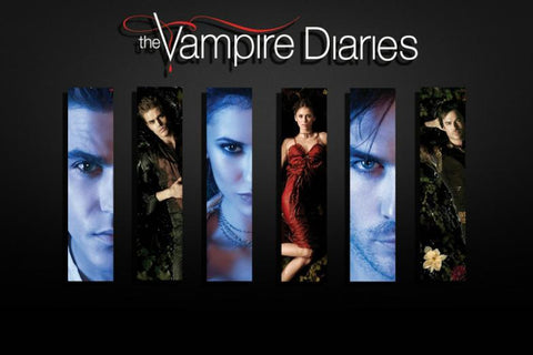 The Vampire Diaries TV Series Silk Canvas Wall Posters HD Large Modern Home Living Room Decor Movie Comic Music Posters 15 - 32x48 inch (80x120cm)