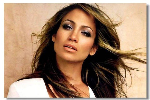 JENNIFER LOPEZ Silk Wall Poster POP Movi music Star decoration Posters for wall HD Large Modern Home bedroom decor 35 - 32x48 inch (80x120cm)