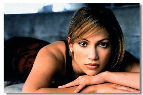JENNIFER LOPEZ Silk Wall Poster POP Movi music Star decoration Posters for wall HD Large Modern Home bedroom decor 21 - 32x48 inch (80x120cm)