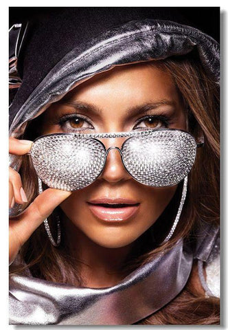JENNIFER LOPEZ Silk Wall Poster POP Movi music Star decoration Posters for wall HD Large Modern Home bedroom decor 03 - 32x48 inch (80x120cm)