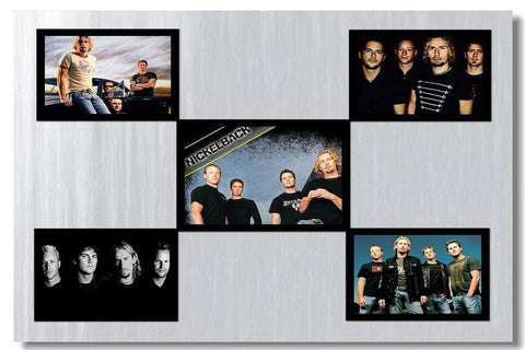 Nickelback Silk Wall Poster Hit HOT Rab music Star decoration Posters for wall HD Large Modern Home bedroom decor picture 08 - 32x48 inch (80x120cm)