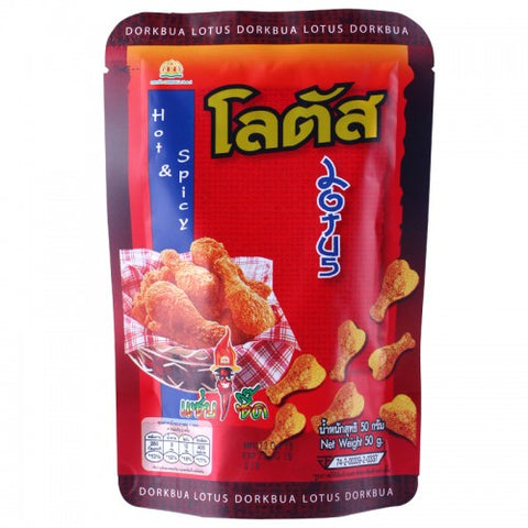 Lotus Brand Snacks Chicken Legs  60 g.
