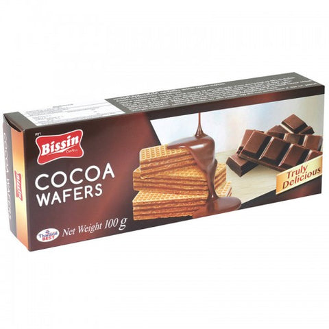 Bissin Cocoa Wafers 100 g.