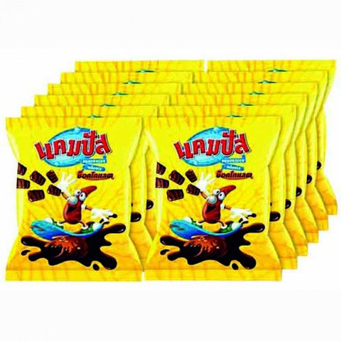 Campus Snack Chocolate coated 13 g Pack 12