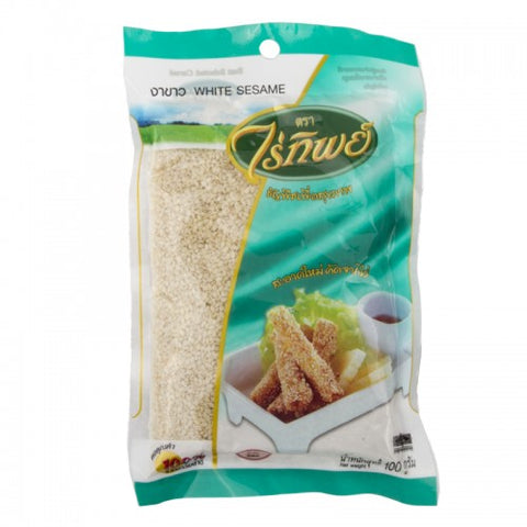 RAITIP WHITE SESAME SEEDS 100 G. - THAI ETC GROUP