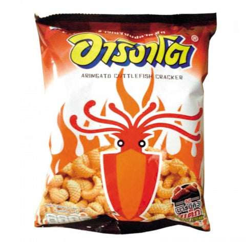 Arigato Squid Snacks Barbecue Size 65 g.