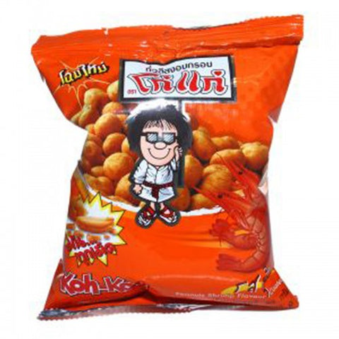 Koh Kae Peanuts Shrimp Flavour Coated 80 g.