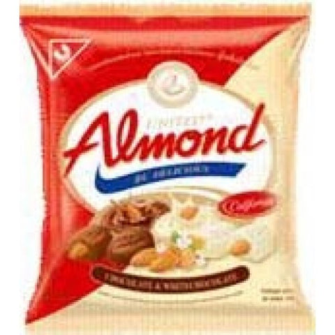Almond Chocolate & White Chocolate United 247.5 g.