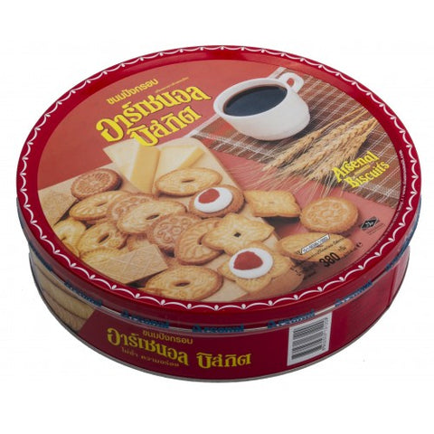 Arsenal Assorted Biscuits 380 g.
