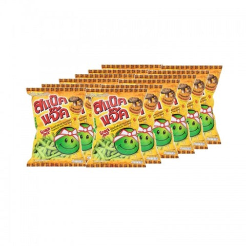 Snack Jack Green Pea Snacks 17g. pack12