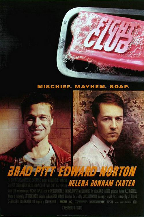 Fight Club Movie Poster Hd
