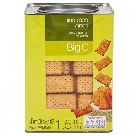 BigC Sesame Butter Cracker 1.5 kg