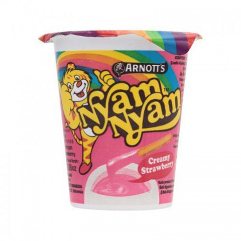 Arnott's Nyam Nyam Biscuit With Creamy Strawberry 27 g.