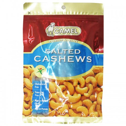 Camel Salted Cashews Size 150 g.