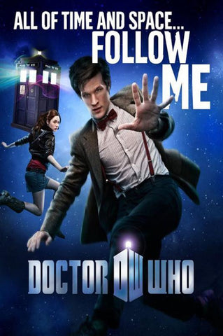 Doctor Who TV Series Silk Canvas Wall Posters HD Large Modern Home Living Room Decor Movie Comic Music Posters Decroation 05 - 32x48 inch (80x120cm)