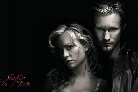 True Blood 6 Series Silk Canvas Wall Posters HD Large Modern Home Living Room Decor Movie Comic Music Posters Decroation 24 - 32x48 inch (80x120cm)