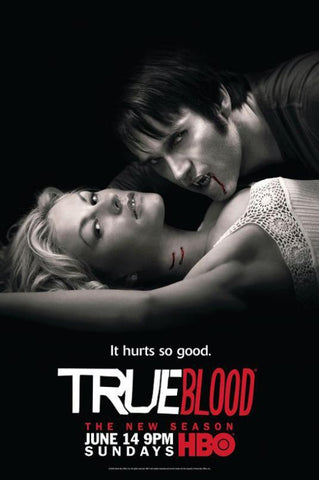 True Blood 6 Series Silk Canvas Wall Posters HD Large Modern Home Living Room Decor Movie Comic Music Posters Decroation 05 - 32x48 inch (80x120cm)