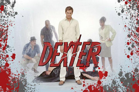 Dexter 8 TV Series Silk Canvas Wall Posters HD Large Modern Home Living Room Decor Movie Comic Music Posters Decroation 045 - 32x48 inch (80x120cm)