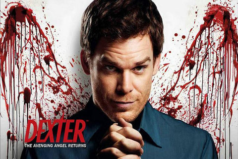 Dexter 8 TV Series Silk Canvas Wall Posters HD Large Modern Home Living Room Decor Movie Comic Music Posters Decroation 30 - 32x48 inch (80x120cm)
