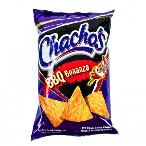 Kraft Food Chacho'S  Tortilla Corn Chips Bbq Flavour 185 g.