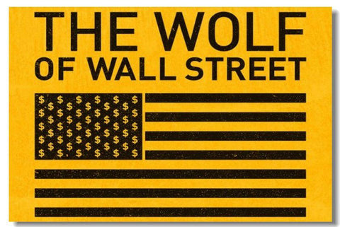 The Wolf of Wall Street Leonardo DiCaprio Silk Wall Poster Prints New (006) - 13x20 inch (33x50cm)
