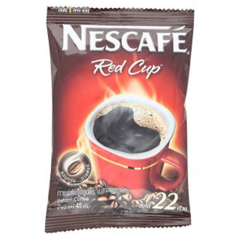 Nescafe Red Cup Instant Coffee Bean Powder Original Taste
