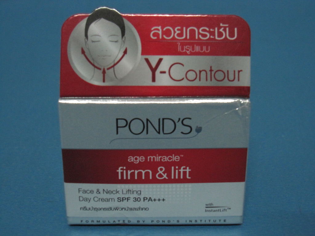 Ponds Age Miracle Firm Lift Face Neck Lifting Day Cream Spf30 Londs Night 10g Pa