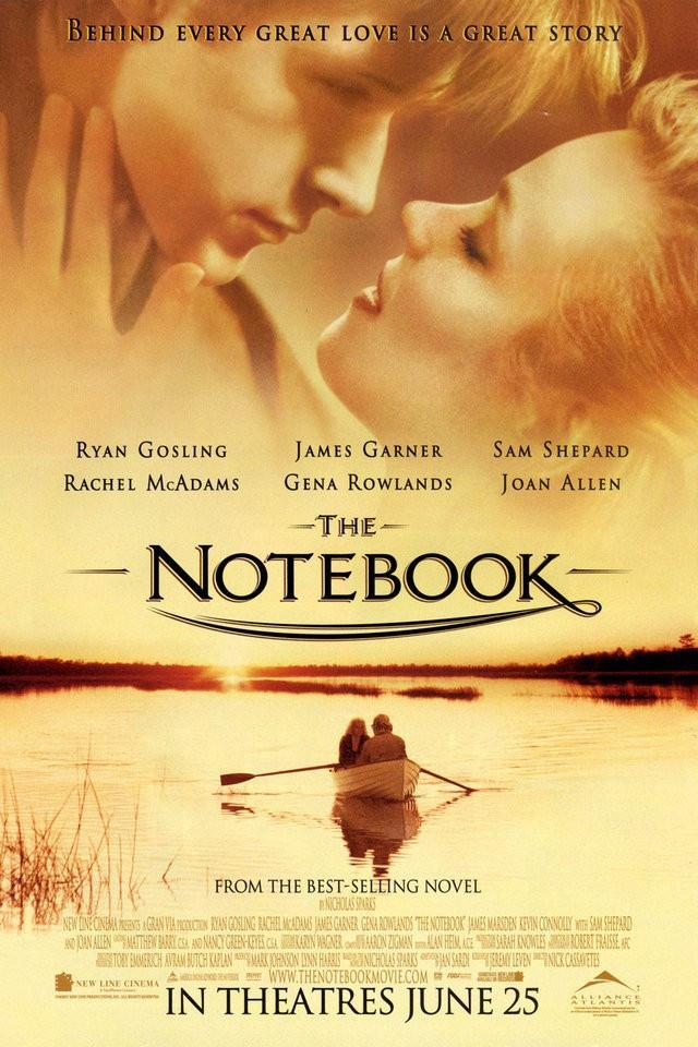 The Notebook Silk Canvas Wall Poster HD Classic Romantic movie poster  pictures for Bedroom 18\'\' 30\'\' 36\'\' 01 - 20x30 inch (50x75cm)