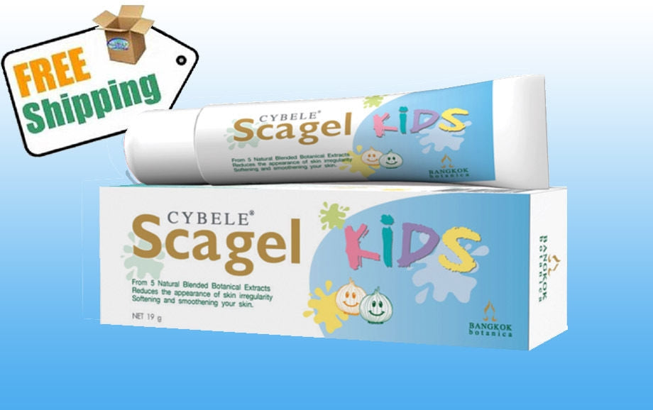 Cybele Scagel Kids Gel Cream Reduce Scar Ance Burn Keloid 19 G