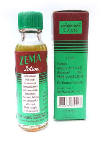 ZEMA Lotion for local Treatment Dermatitis Eczematoid Itching Irritant Skin