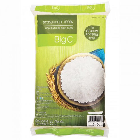 BIG C PATHUM RICE 100% 5 KGS - THAI ETC GROUP